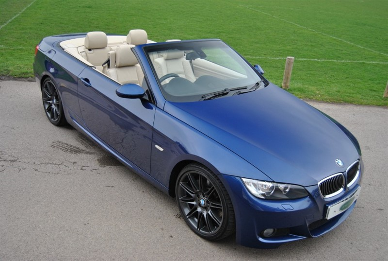 used BMW 330d M Sport Convertible - 2009 Model in west-sussex-surrey