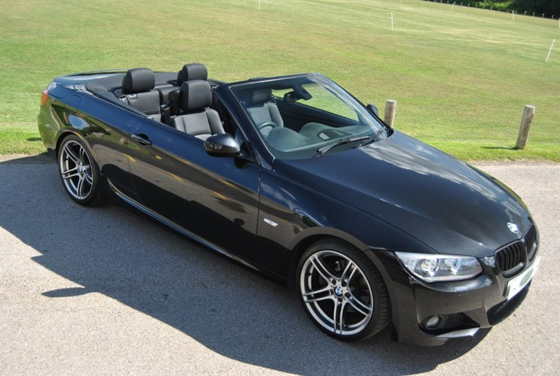 used BMW 330d M SPORT CONVERTIBLE in west-sussex-surrey