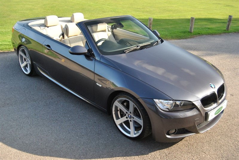 used BMW 330i M Sport Convertible - Only 39.000 Miles in west-sussex-surrey