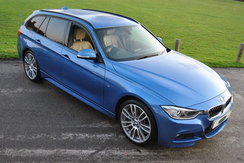 used BMW 335d XDRIVE M SPORT TOURING 2014 M/Y in west-sussex-surrey