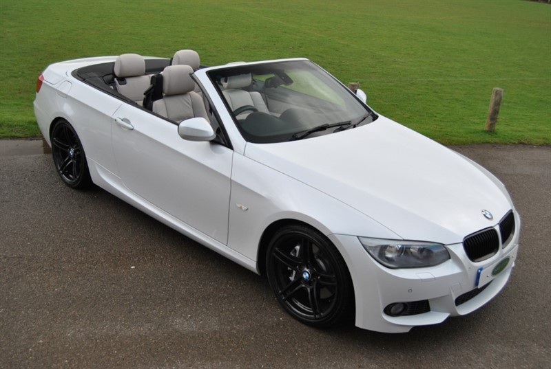 used BMW 335i M Sport DCT Twin Turbo Convertible in west-sussex-surrey