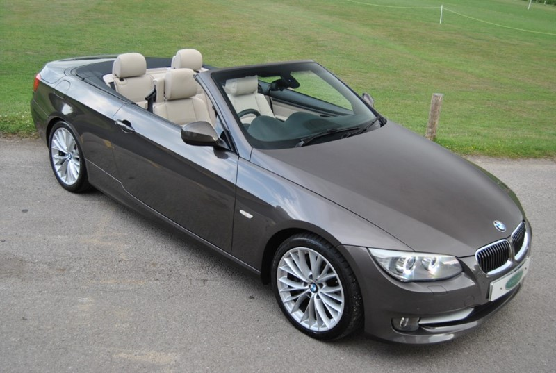 used BMW 335i DCT Convertible - Twin Power Turbo in west-sussex-surrey