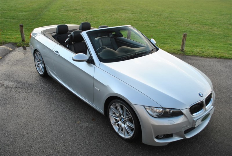 used BMW 335i M Sport Bi Turbo Convertible in west-sussex-surrey