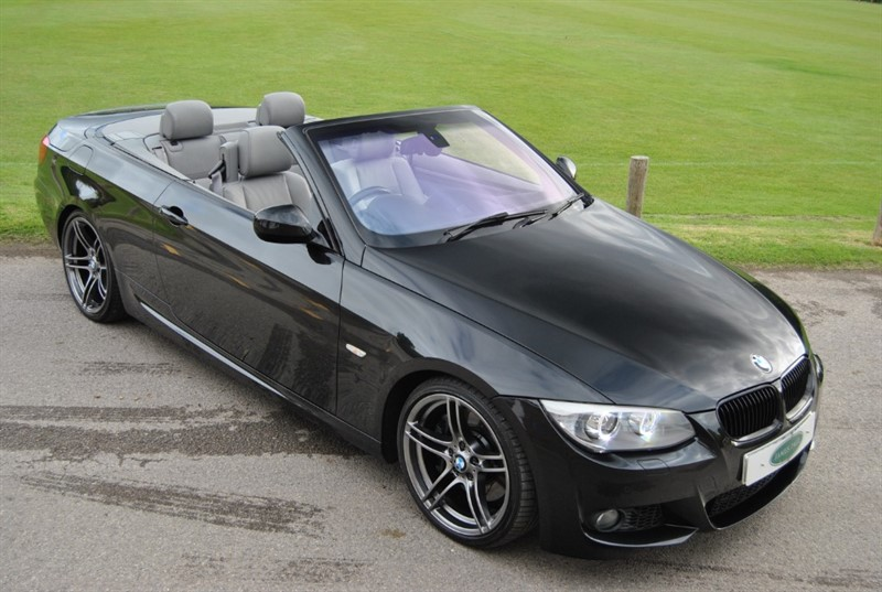 used BMW 335i M SPORT DCT CONVERTIBLE - 2011 Model in west-sussex-surrey