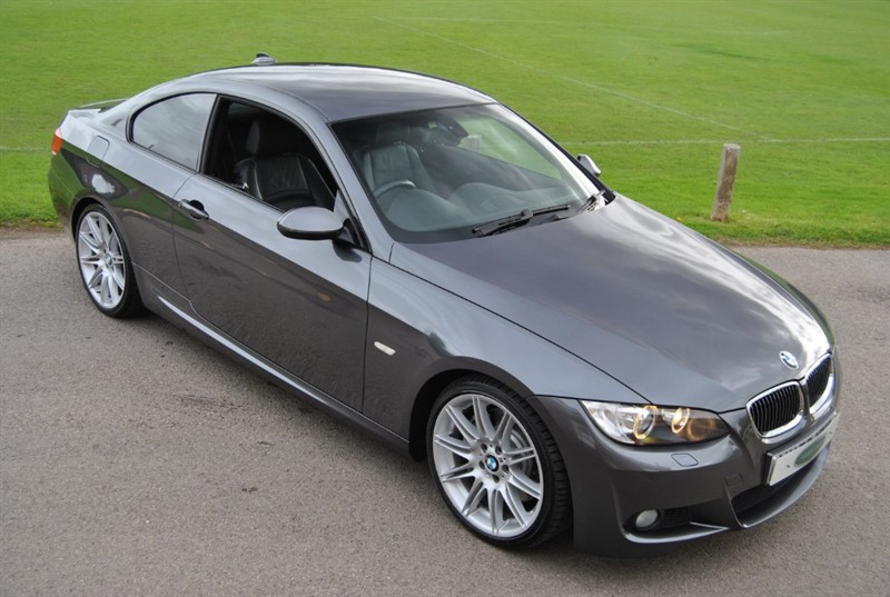 used BMW 335i M Sport Bi Turbo Coupe Manual in west-sussex-surrey