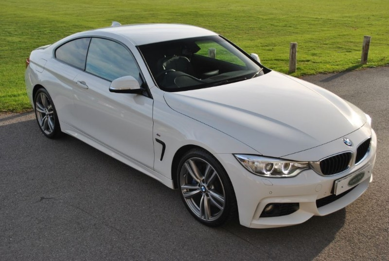 """used BMW 428i M SPORT - Pro Nav - 19"""" Alloys in west-sussex-surrey"""
