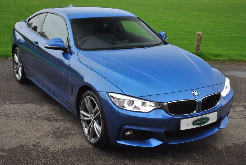 used BMW 435d XDRIVE M SPORT COUPE in west-sussex-surrey