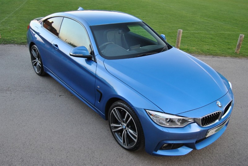 used BMW 420i XDRIVE M SPORT - 2017 Model in west-sussex-surrey