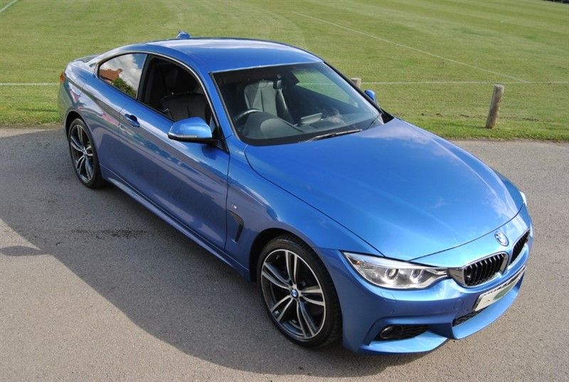 used BMW 420i XDRIVE M SPORT - Twin Power Turbo in west-sussex-surrey