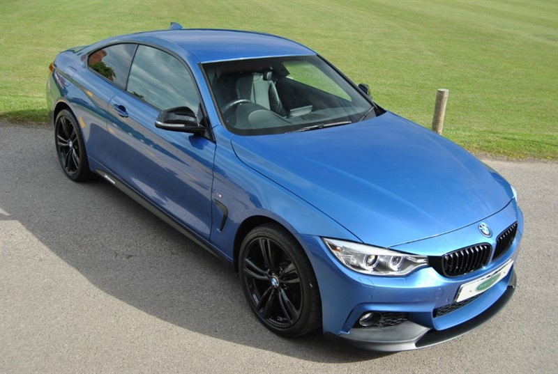 used BMW 420i XDRIVE M SPORT - M PERFORMANCE in west-sussex-surrey