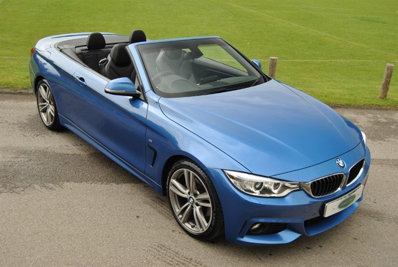 used BMW 428i M Sport Convertible - Pro Nav - Neck Warmer in west-sussex-surrey