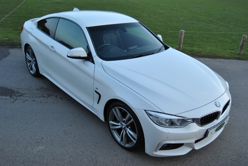 used BMW 428i M Sport Coupe in west-sussex-surrey