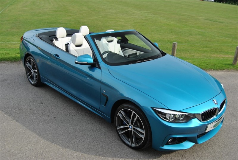 used BMW 435d XDRIVE M SPORT INDIVIDUAL in west-sussex-surrey