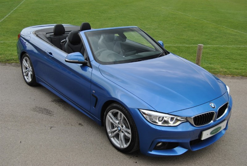 used BMW 435i M Sport Convertible in west-sussex-surrey