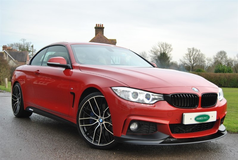 used BMW 440i M Sport Convertible Twin Turbo - M Performance Kit in west-sussex-surrey
