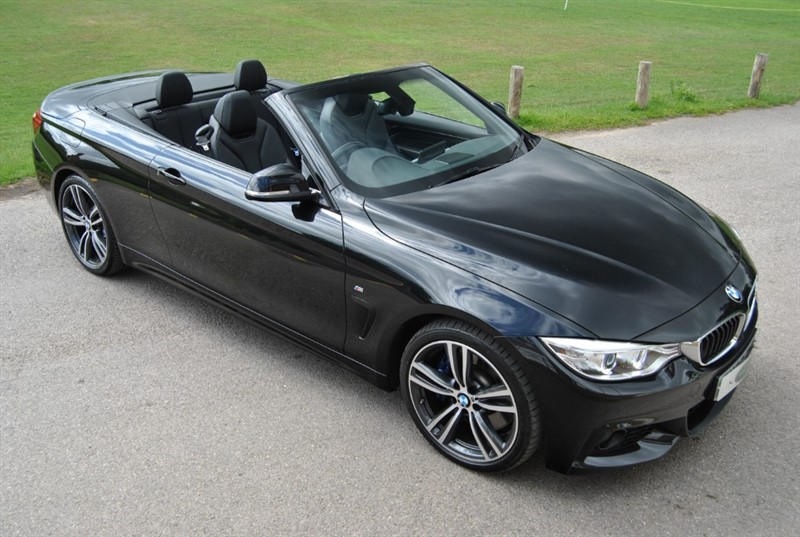 used BMW 440i M Sport Convertible Twin Turbo in west-sussex-surrey