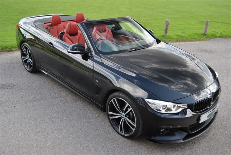 used BMW 440i M Sport Convertible - Pro Nav / Neck Warmer in west-sussex-surrey