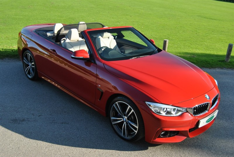 used BMW 440i M Sport Convertible - Only 14.000 Miles in west-sussex-surrey