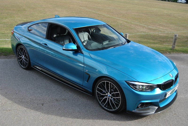 used BMW 440i M Sport 2018 M/Y - M PERFORMANCE BHP PACK in west-sussex-surrey