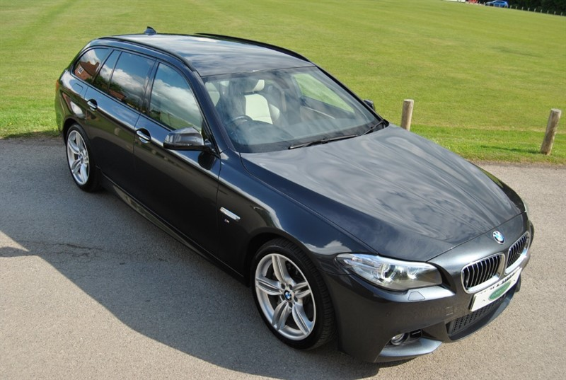 used BMW 535d M SPORT TOURING - TWIN POWER TURBO in west-sussex-surrey