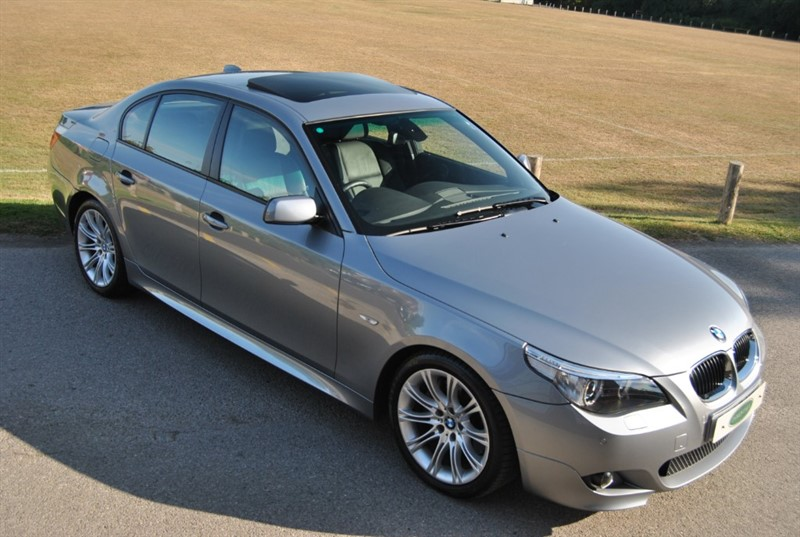used BMW 535d M Sport Bi Turbo Saloon in west-sussex-surrey