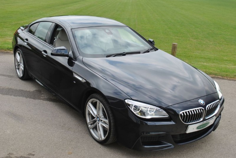 used BMW 640d M SPORT GRAN COUPE in west-sussex-surrey