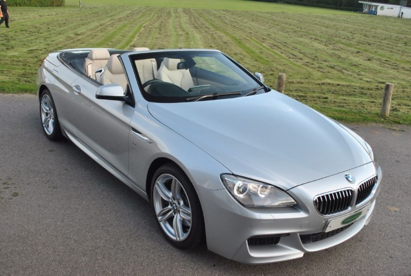 used BMW 640i M Sport Convertible - 1 Owner & Only 9.000 Miles in west-sussex-surrey