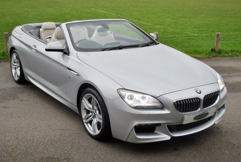 used BMW 640i M Sport Convertible  in west-sussex-surrey