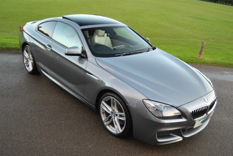 used BMW 640d M Sport Coupe in west-sussex-surrey