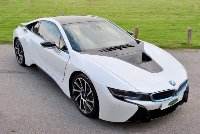 used BMW i8 -Concierge Services / Harman Kardon  in west-sussex-surrey
