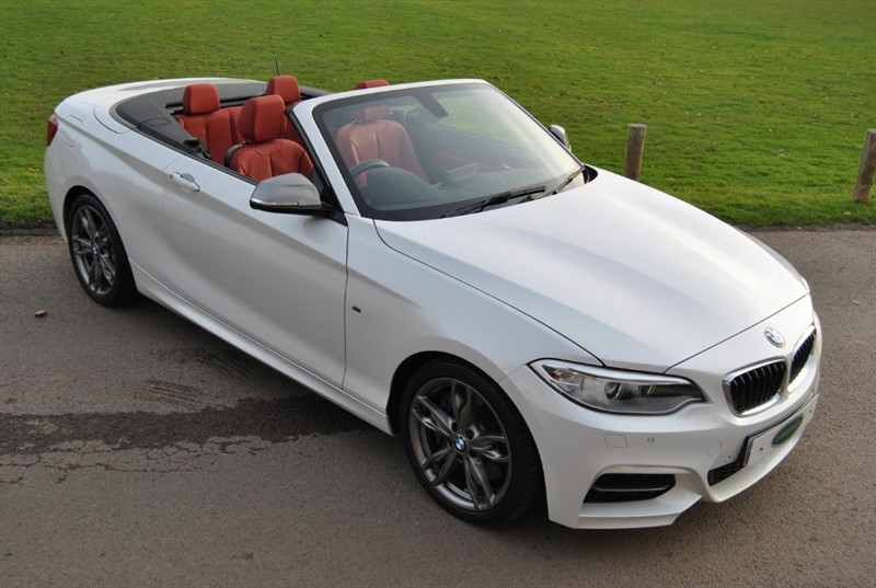 used BMW M240i Twin Power Turbo Convertible in west-sussex-surrey