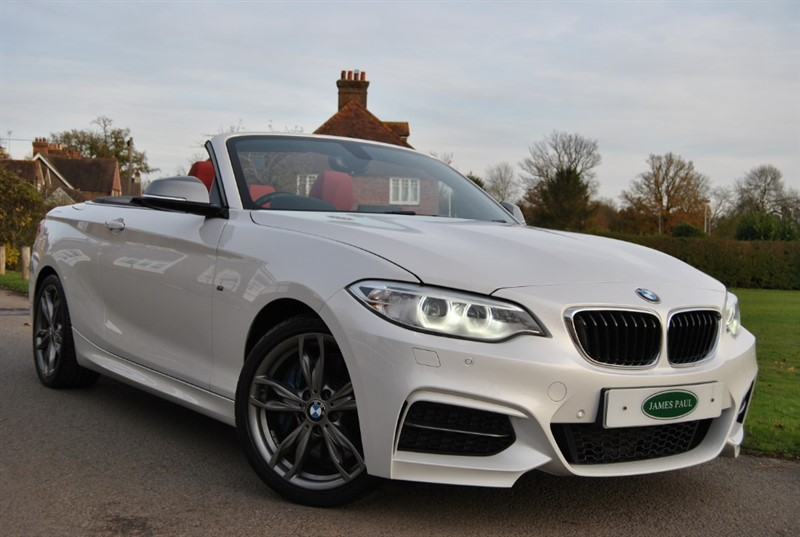 used BMW M240i Convertible - Pro Nav / Harman Kardon in west-sussex-surrey