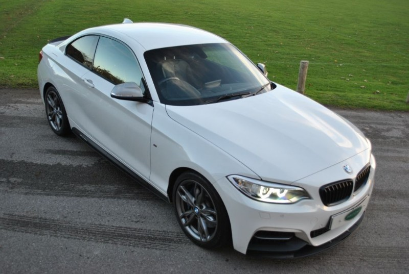 used BMW M240i M Performance Coupe - Pro Nav / Harman Kardon in west-sussex-surrey