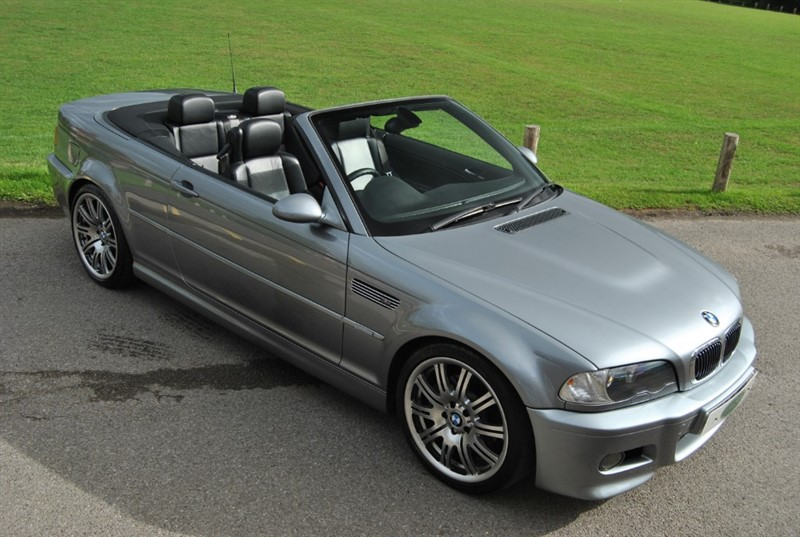 used BMW M3 E46 Convertible - Manual in west-sussex-surrey