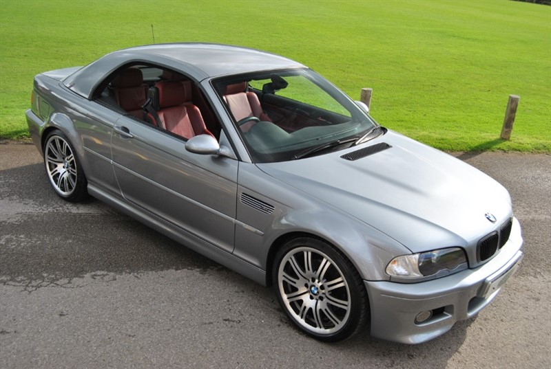 used BMW M3 E46 Manual Convertible in west-sussex-surrey