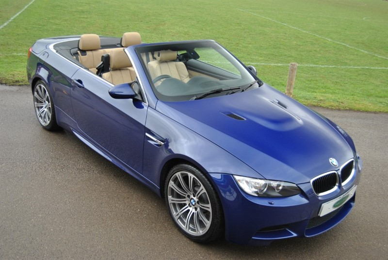 used BMW M3 DCT M Drive Convertible in west-sussex-surrey