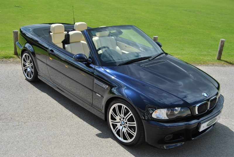 used BMW M3 Convertible