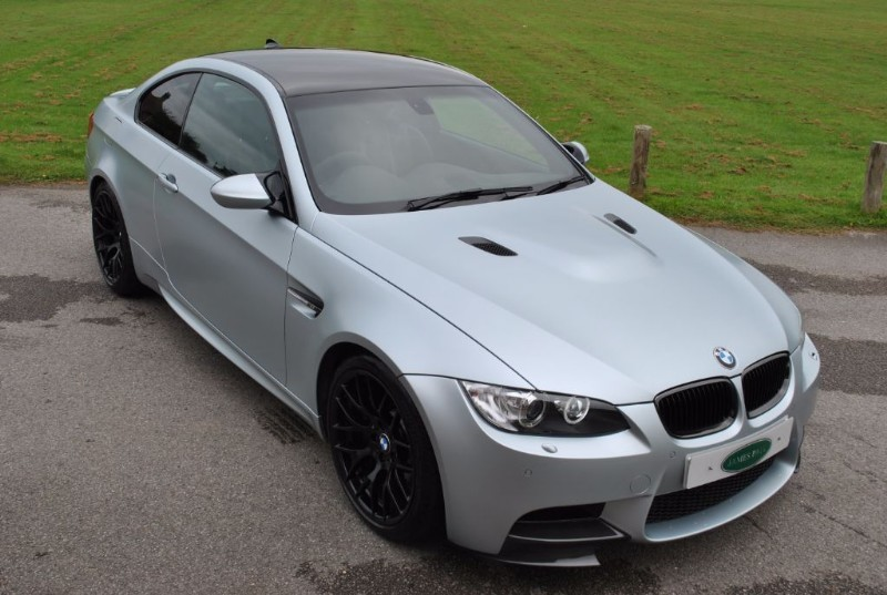 used BMW M3 FROZEN SILVER EDITION - 1 Of 100 UK CARS in west-sussex-surrey