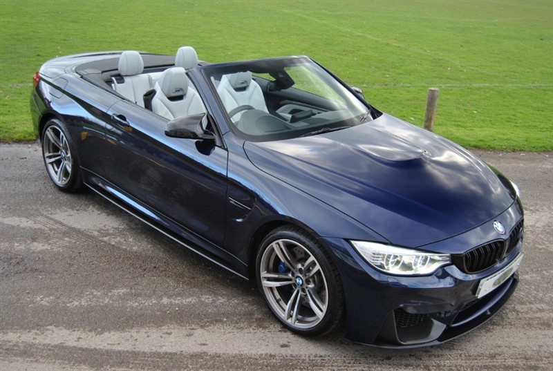 used BMW M4 DCT Convertible - Head Up Display / Carbon Pack in west-sussex-surrey