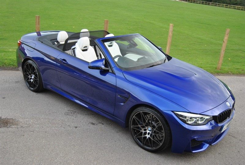 used BMW M4 COMPETITION - BMW INDIVIDUAL in west-sussex-surrey