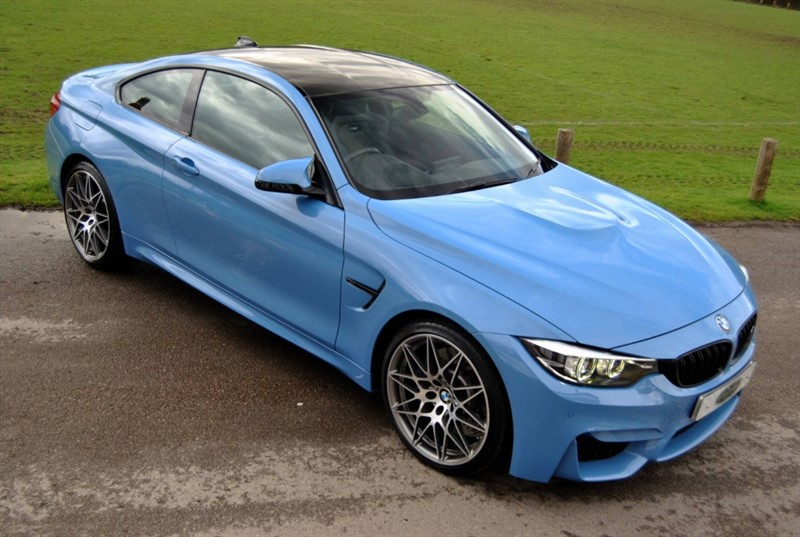 used BMW M4 COMPETITION - AKRAPOVIC EXHAUST in west-sussex-surrey
