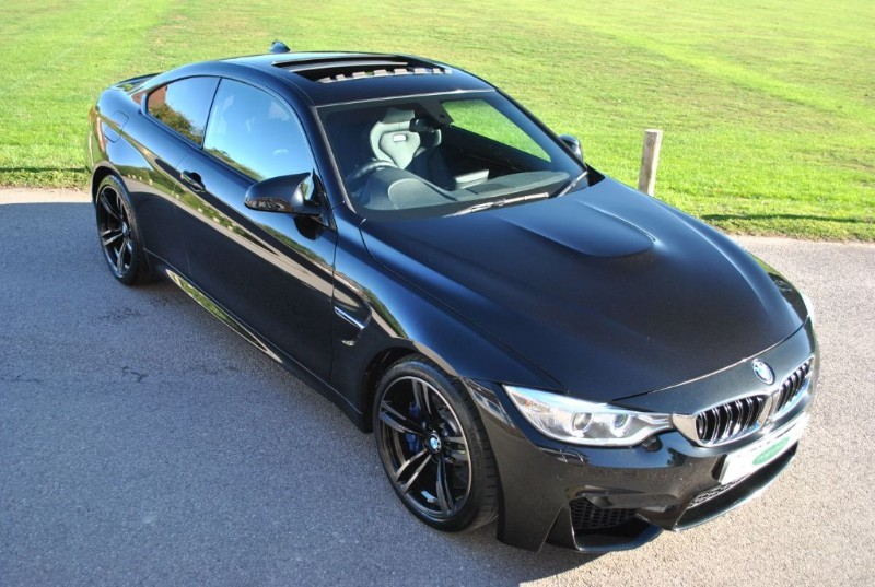 used BMW M4 DCT Coupe - Harman Kardon - Glass Sunroof in west-sussex-surrey