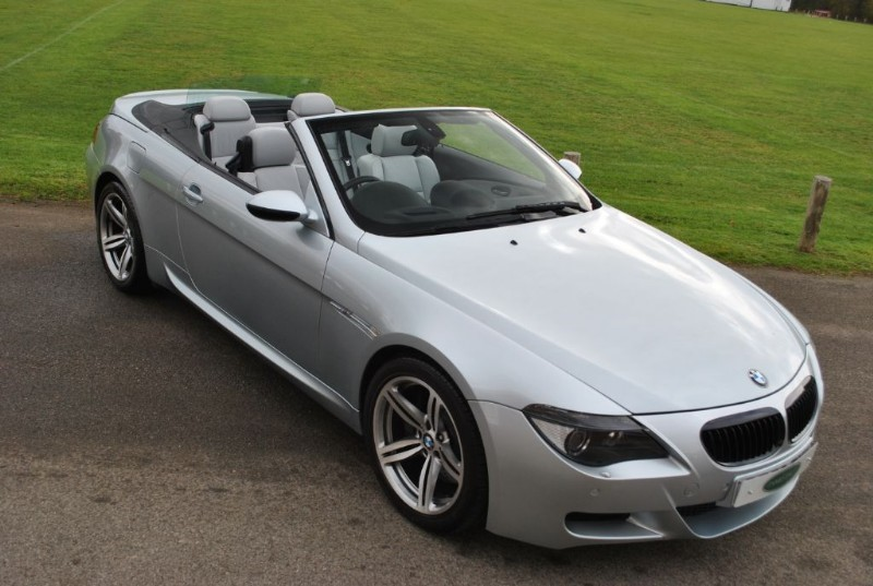 used BMW M6 V10 Convertible in west-sussex-surrey