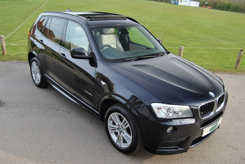 used BMW X3 XDRIVE20D M SPORT - Pro Nav / Glass Sunroof in west-sussex-surrey