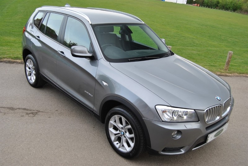 used BMW X3 XDRIVE30D SE in west-sussex-surrey