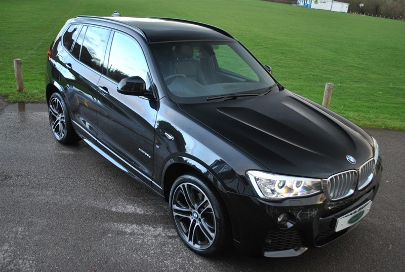 used BMW X3 XDRIVE35D M SPORT 2017 MODEL in west-sussex-surrey