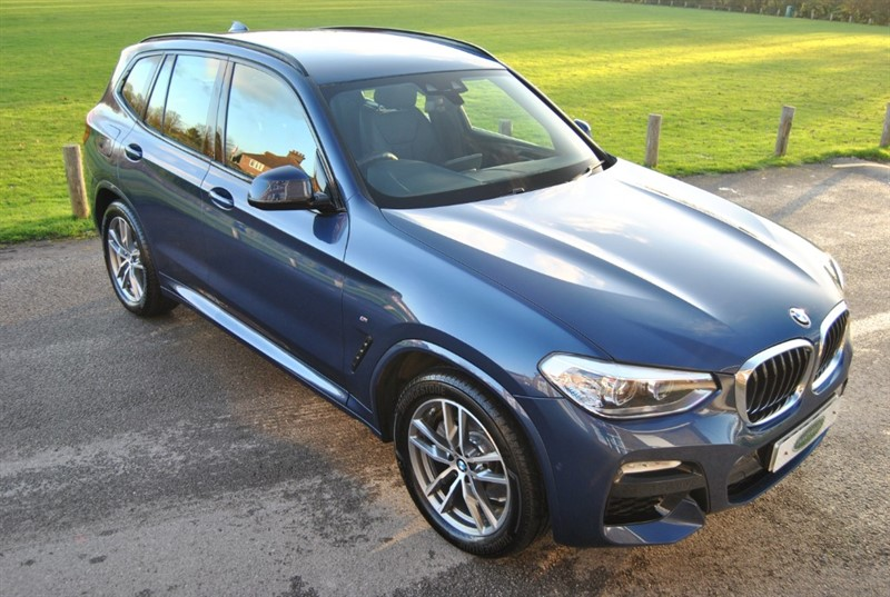 used BMW X3 XDRIVE20I M SPORT in west-sussex-surrey