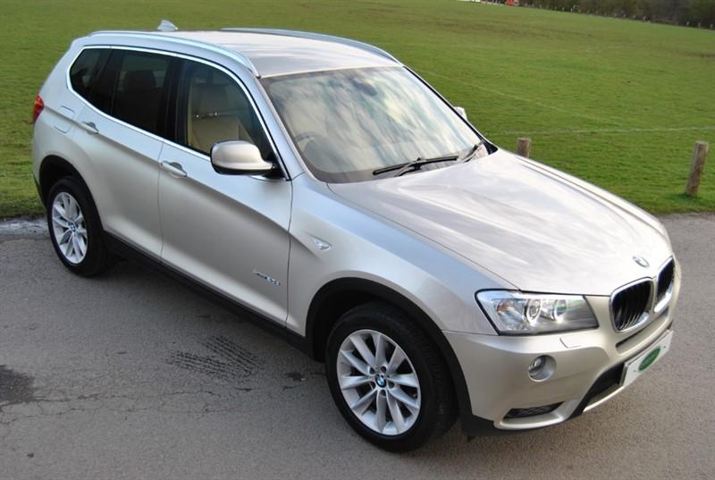 used BMW X3 XDRIVE20D SE - Head Up Disp / Pro Nav in west-sussex-surrey