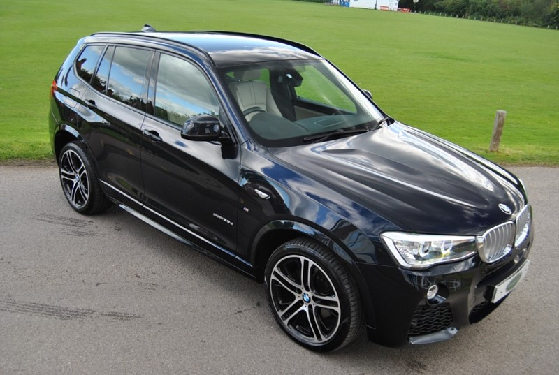 used BMW X3 XDRIVE35D M SPORT 2015 Model in west-sussex-surrey
