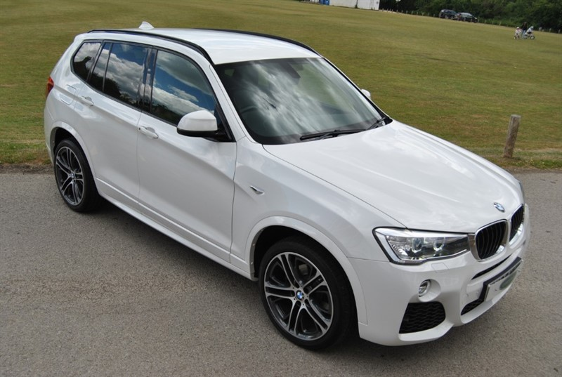used BMW X3 XDRIVE20D M SPORT - 2016 Model in west-sussex-surrey